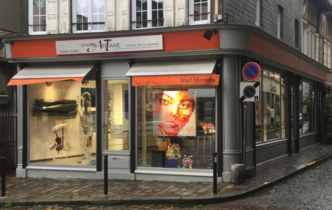 galerie Artiane , galerie d'art Honfleur Normandie