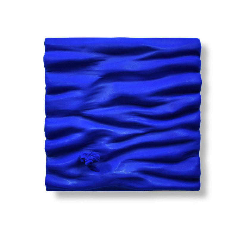 bleu klein monochrome matière vague oeuvre art did moreres artiste