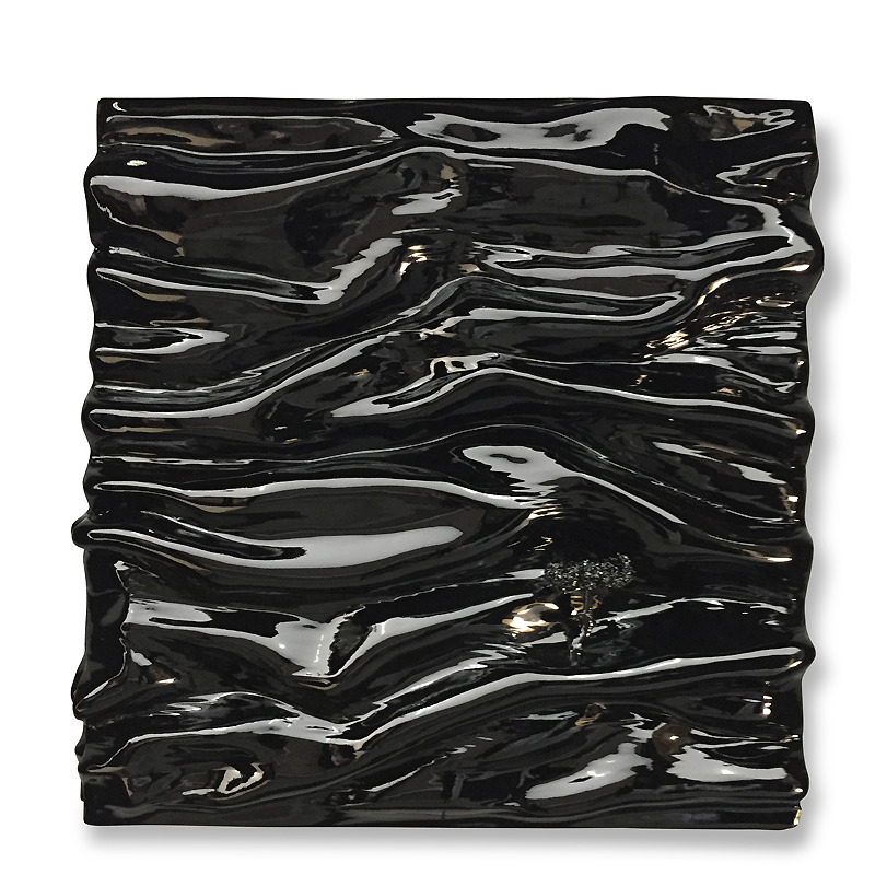 NOIR BLACK BRILLANT PEINTURE DIDMORERES VAGUE CREATION RELIEF