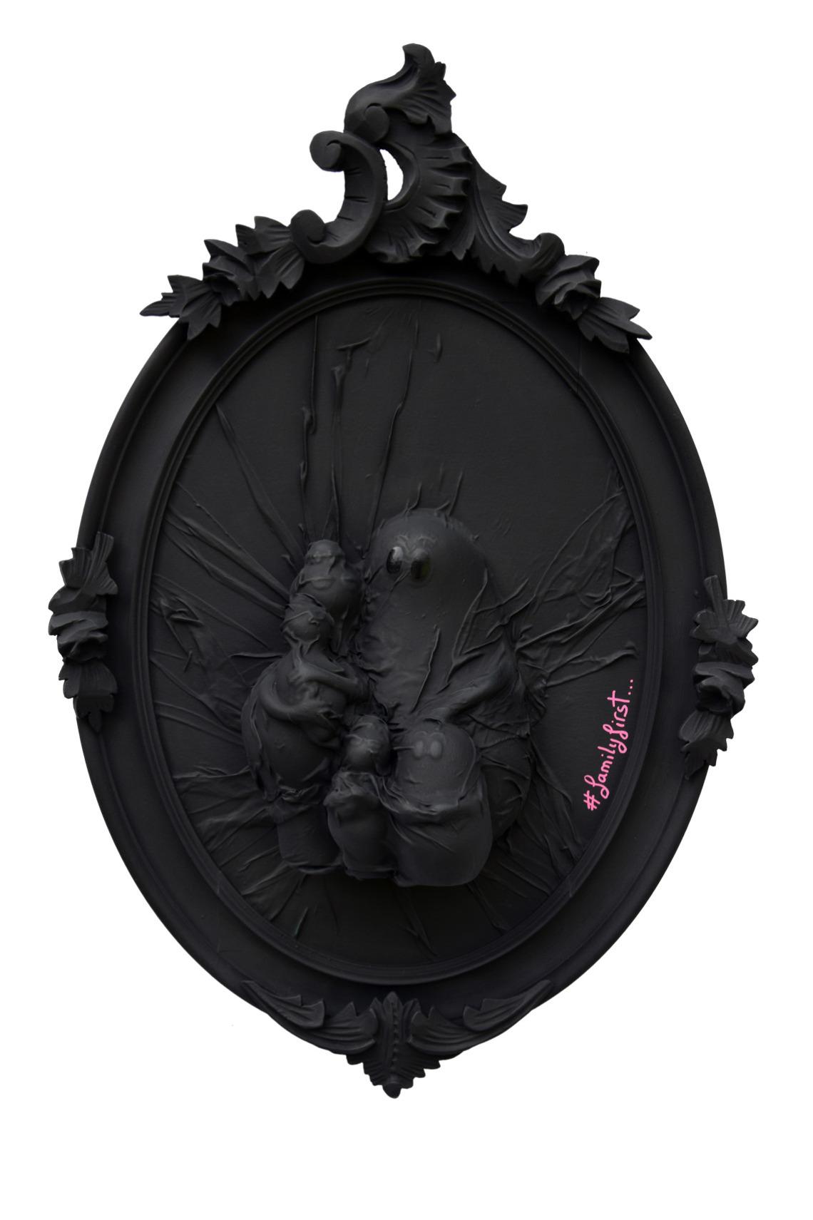 barbapapa dysney comics tableau oeuvre black monochrome hastag instagram #