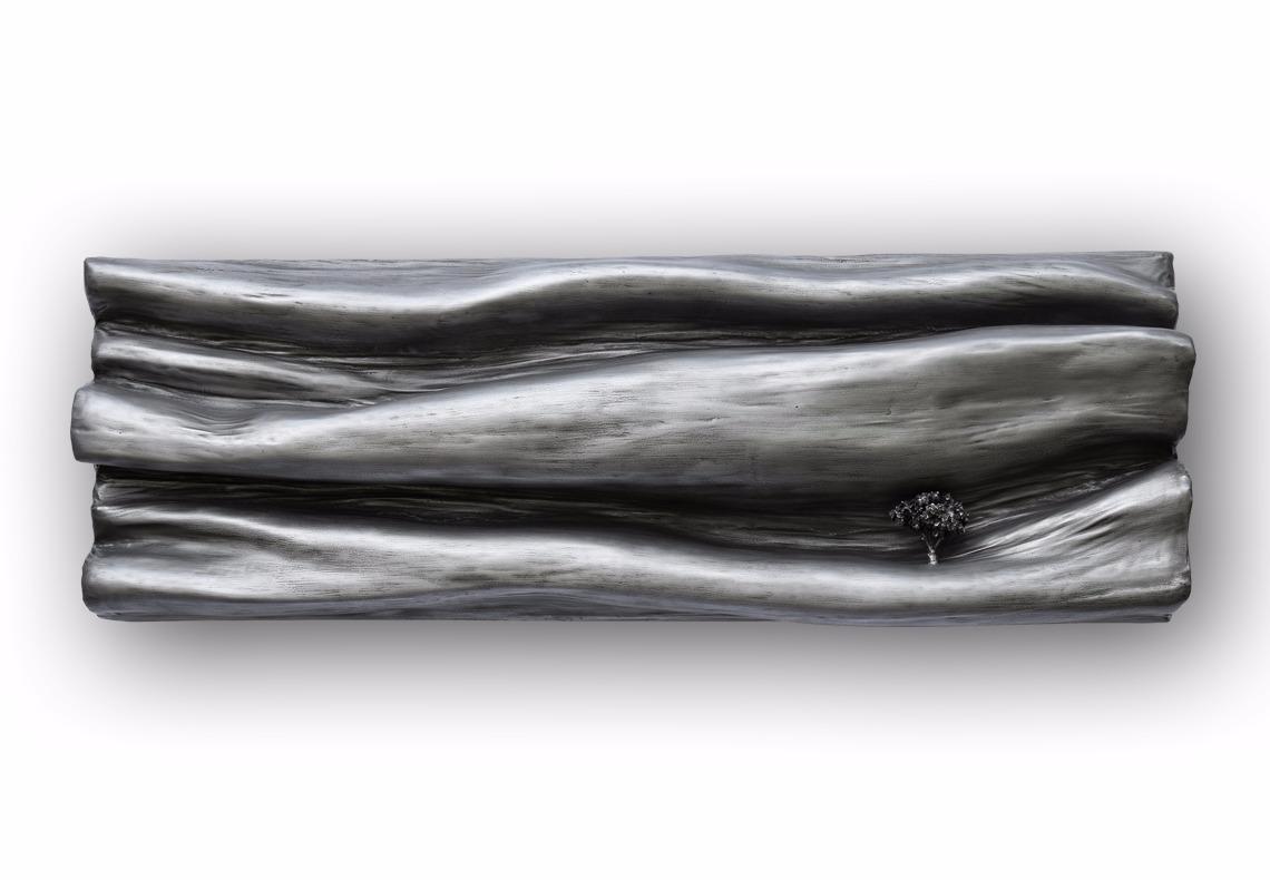 tableau sculpture creation decorative effet zinc par Did Morères