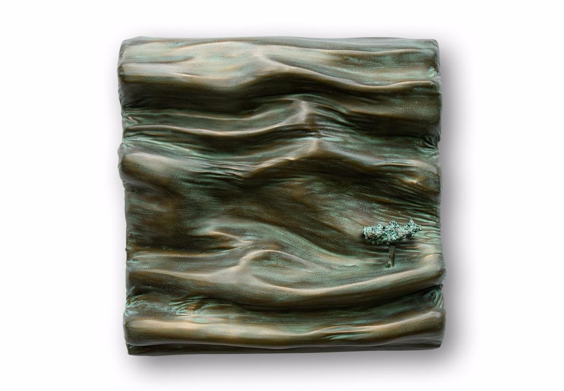 peinture sculpture poudre de bronze