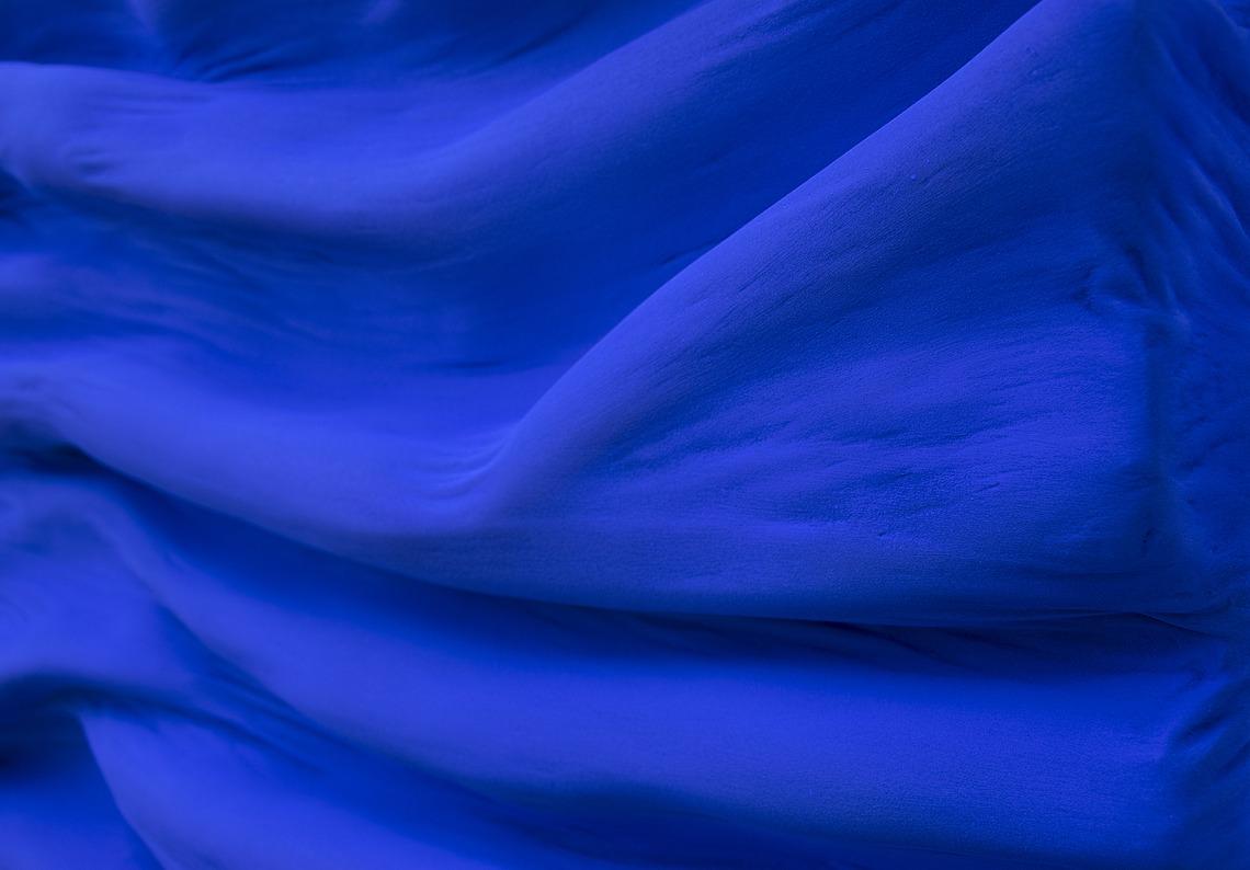 rythme mouvement vague évasion voyage bleu profond bleu klein par Did Morères