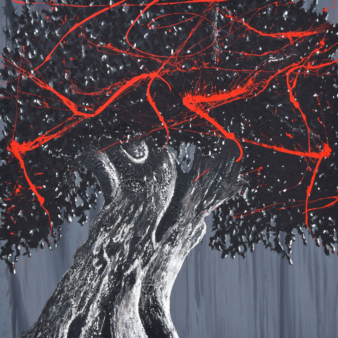 tree art street art arbre vegetation bio ecologie correze didmoreres tableau toile artiste