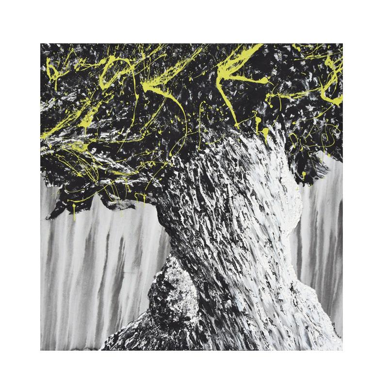 tree art street art didmoreres galerie oeuvre acrylique arbre vegetation correze