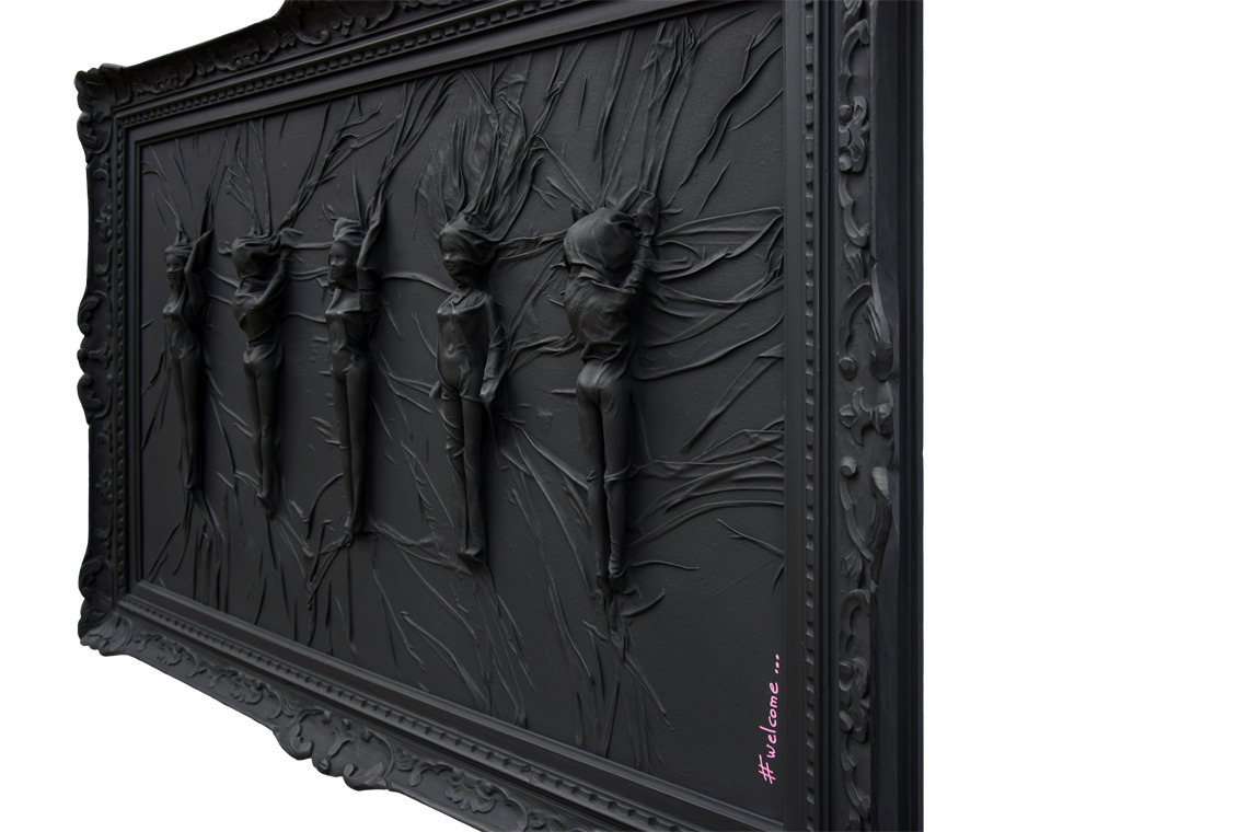 barbie monochrome black hastag instagram pop art art art gallery baroque baguette